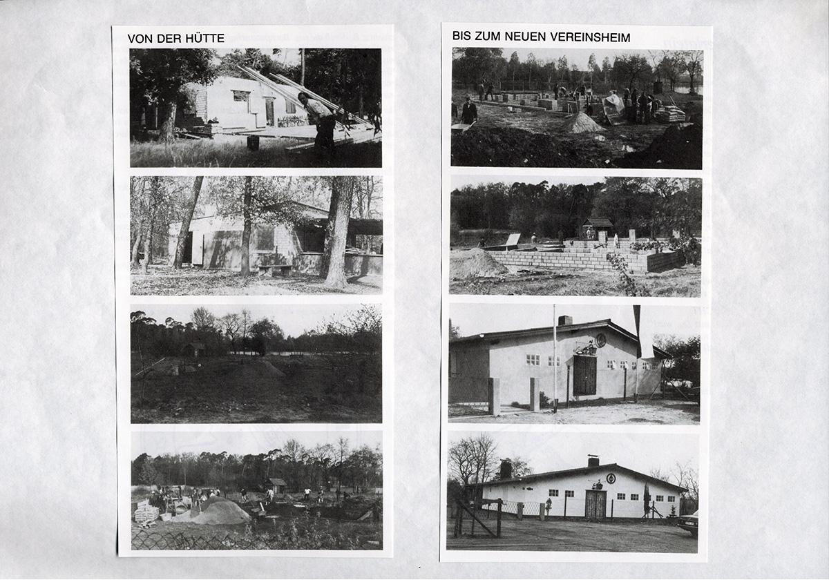 Vereinheime ASV Bauschheim alt und neu